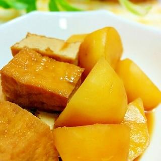 簡単♪ジャガイモと厚揚げの煮物