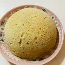 サイリウム入りノンオイルソイプロテイン蒸しパン