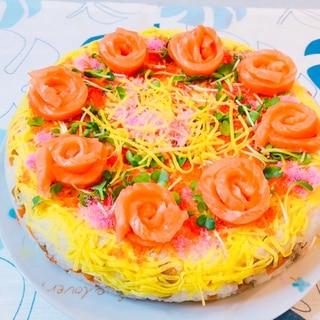 豪華☆寿司ケーキ