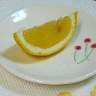 上手にレモンを搾る方法、お客様への心使いにも