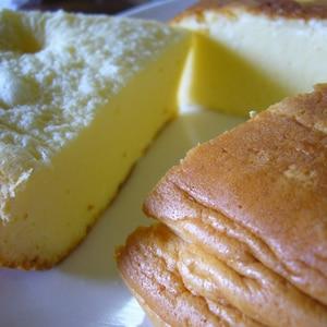 超簡単炊飯器でしっとりふわふわ★スフレチーズケーキ