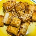 ♡普通の豆腐で簡単♪豆腐の揚げ出し豆腐風♡