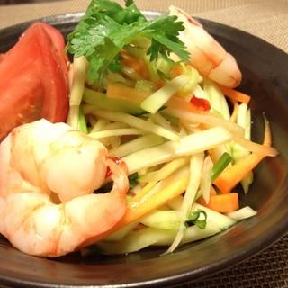 Thai☆青パパイヤのサラダ(ソムタム)