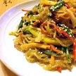 【アレンジレシピ】しらたきチャプチェ