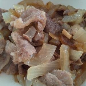 ラム肉炒め