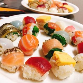 簡単手毬寿司