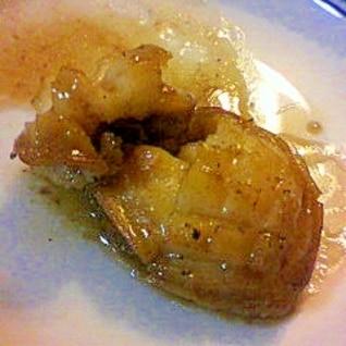 アワビのバターしょうゆ焼