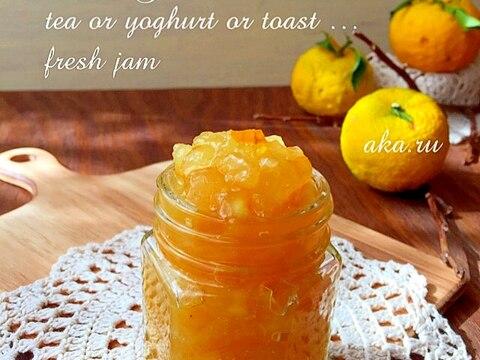 簡単 作り方 柚子 の ジャム