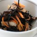 常備菜 ひじきの煮つけ(酢飯に混ぜれば ちらしご飯