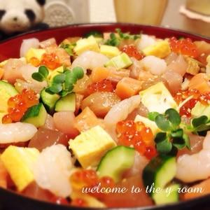 海鮮ちらし寿司♪