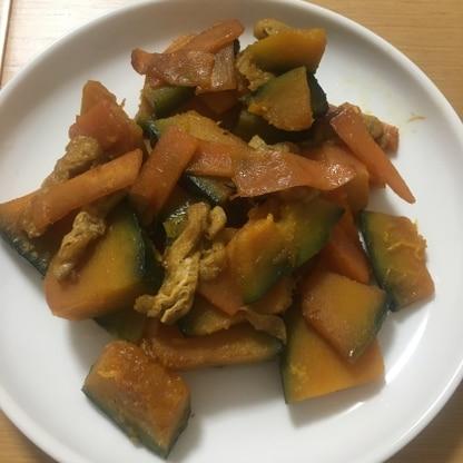 煮付け以外のかぼちゃレシピを探していて、作らせていただきました。味がしゅんだ揚げが美味しかったです!また作りたいです^_^
