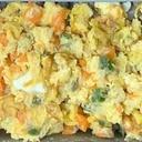 ミックスベジタブルの卵サラダ