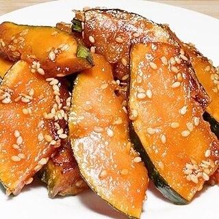 かぼちゃの甘辛炒め【簡単料理】弁当おかずに最適です