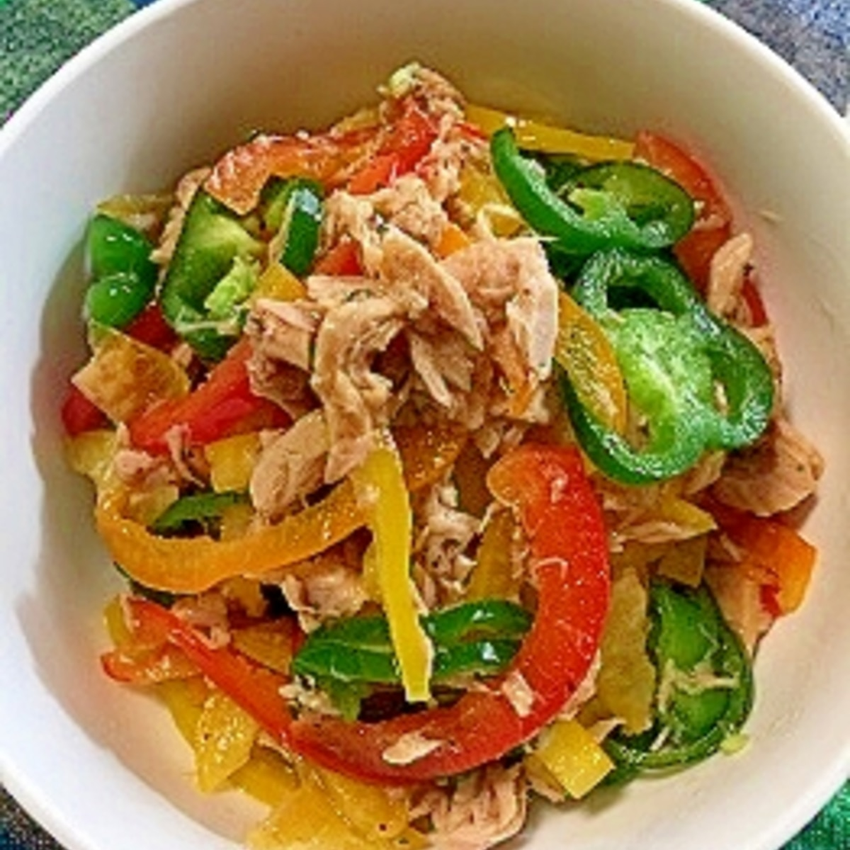 丸 鶏 無限 ピーマン レシピ