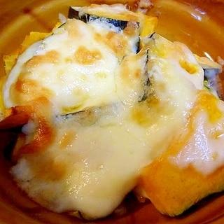 かぼちゃの簡単マヨチーズ焼き