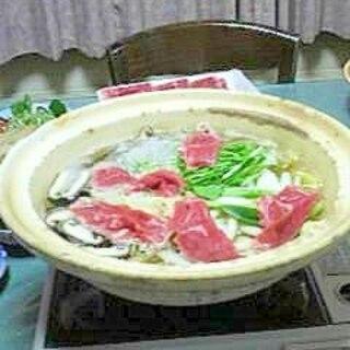 冬の忙しいときはやっぱり鍋、ラムシャブ