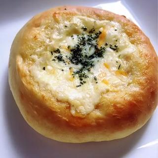 簡単♪手捏ねツナマヨチーズパン♡