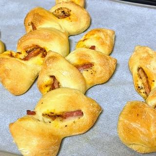 とっても簡単☆ポリ袋で手作りパン!