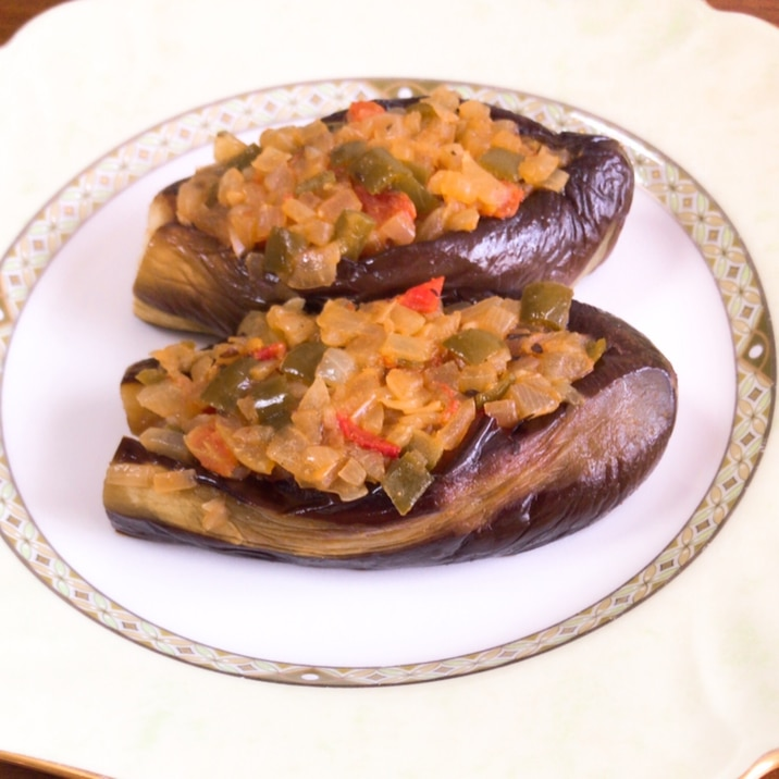 トルコ料理~パトゥルジャン・イマムバユルドゥ