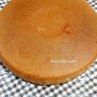 炊飯器で簡単バナナおからケーキ