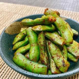 簡単★美味しい!枝豆のピリ辛豆板醤炒め