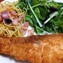 お魚大好き!サーモンフライ