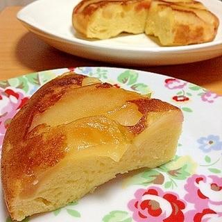 リンゴとゆずの炊飯器ケーキ