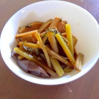 すき焼きのタレで簡単 筍とフキの煮物