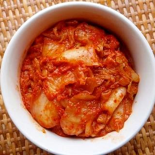 ポリ袋で作る!簡単白菜キムチ