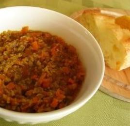 野菜と豆たっぷり★ドライカレー