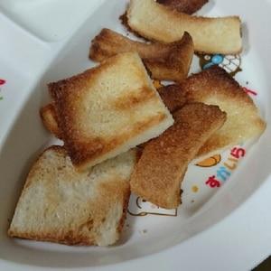 食パンで簡単!さくさくラスク