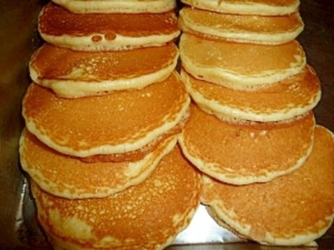 朝ご飯が食べられないお子さんに!朝食用パンケーキ