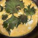 大葉の薄焼き卵
