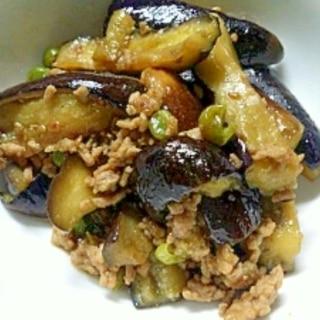 ササッと簡単節約レシピ☆茄子と挽き肉スタミナ炒め