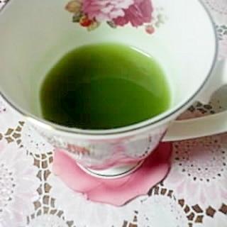 青汁を飲みやすく♪柚子茶青汁