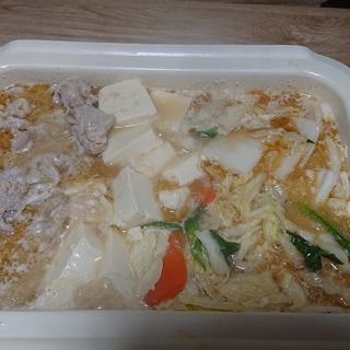 クリーム味噌鍋