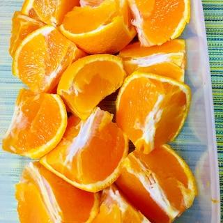 果汁いっぱい!オレンジの剥き方
