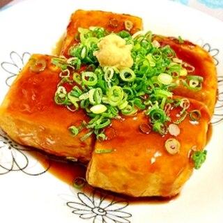 豆腐だけ☆照り焼き豆腐ステーキ