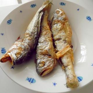 ノンフライヤー活用で焼き魚