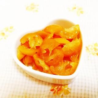金柑の蜂蜜漬けで♪甘露煮