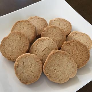 グルテンフリー☆ザクザクココナッツオイルクッキー