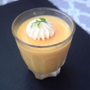 冷凍マンゴーでつくるマンゴープリン