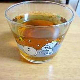 のどに優しい生姜麦茶