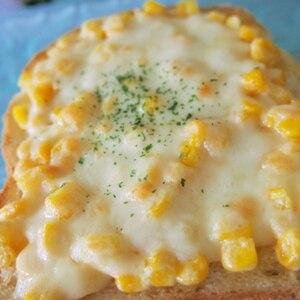 大人も子供も大好き♪コーンチーズパン