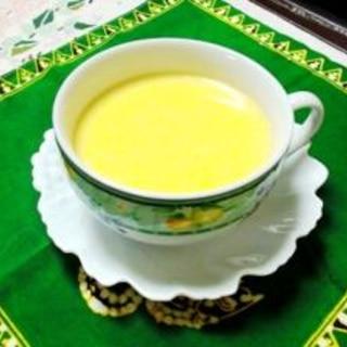 ミキサーでコーンスープ