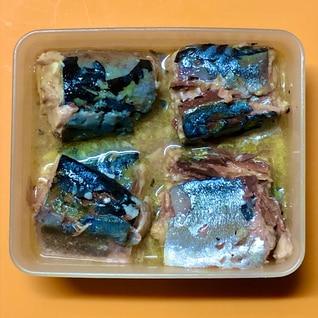 サバの水煮缶の冷凍保存