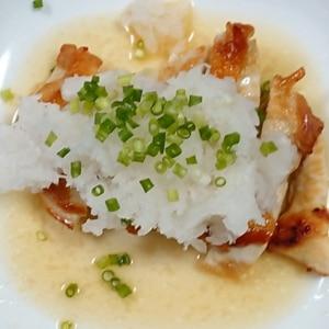 おろしソースで♡鶏ムネ肉の和風ソテー