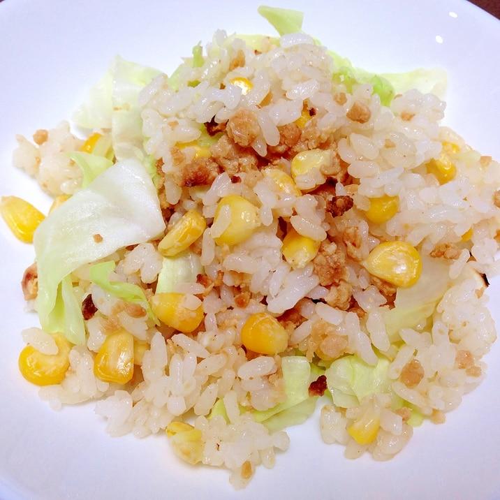 肉 味噌 チャーハン