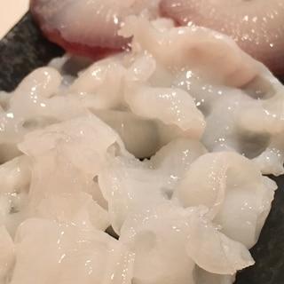 水蛸の刺身