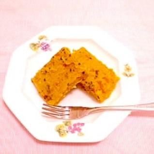 米粉とおからのかぼちゃケーキ